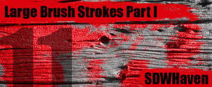 Large Paint Strokes Brushes