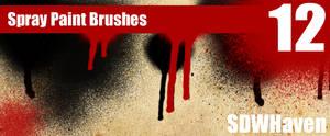 Photoshop Spray Paint Brushes