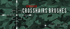 Photoshop Crosshairs Brushes