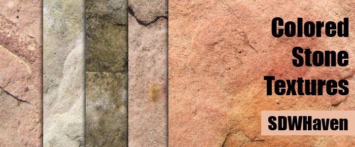 Colored Stone Textures by sdwhaven