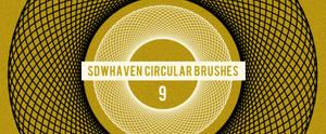 Photoshop Circular Brushes
