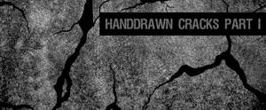 Hand-drawn Cracks Brushes Pt I