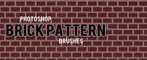 Photoshop Brick Pattern Brushes