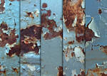 Rusty Blue Chips Textures
