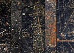 Black Scratched Metal Textures
