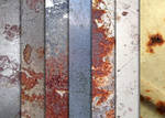 Various Rusted Metal Textures