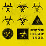 Grunge Biohazard Photoshop Brushes