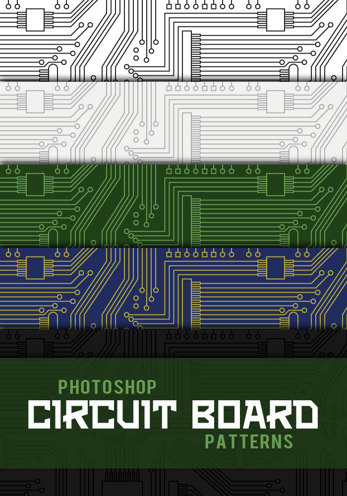 I Want To Buy Used >> Circuit Board Photoshop Patterns by sdwhaven on DeviantArt