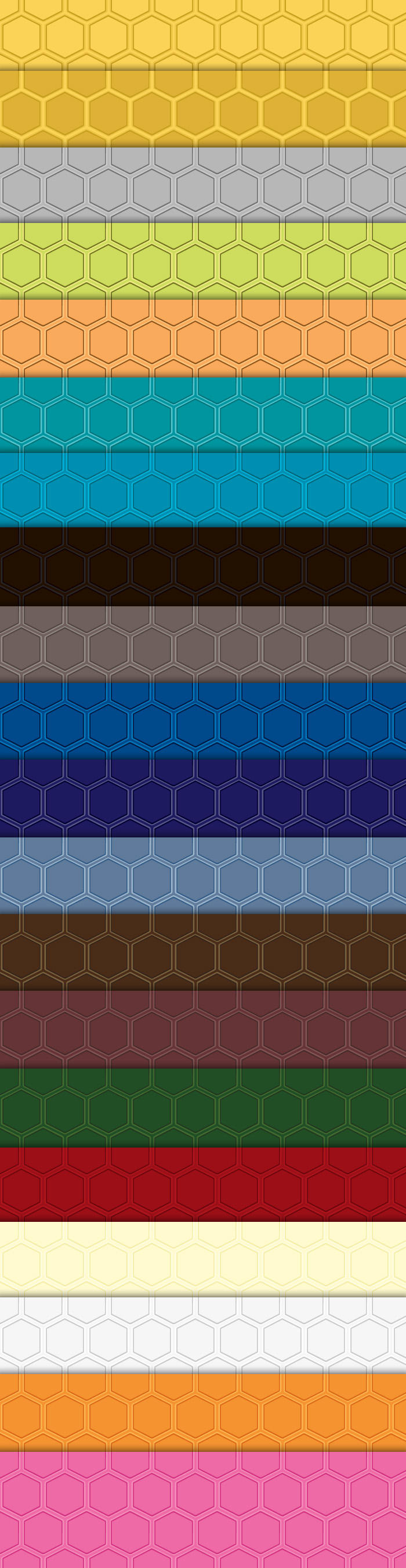 Modern Honeycomb Photoshop Patterns by sdwhaven
