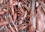 Red Wood Chip Textures