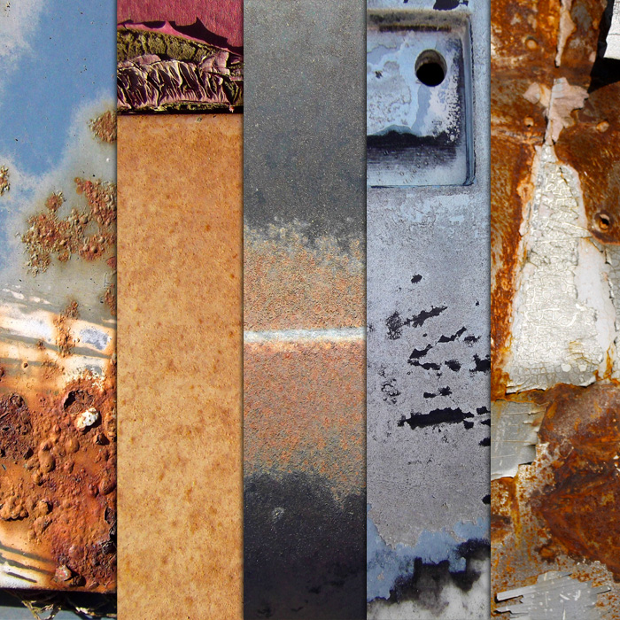 Junkyard Metal Textures by sdwhaven
