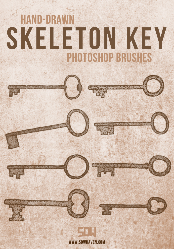 SDWHaven Skeleton Key Brushes by sdwhaven