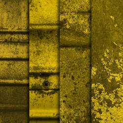 Yellow Grunge Metal Textures