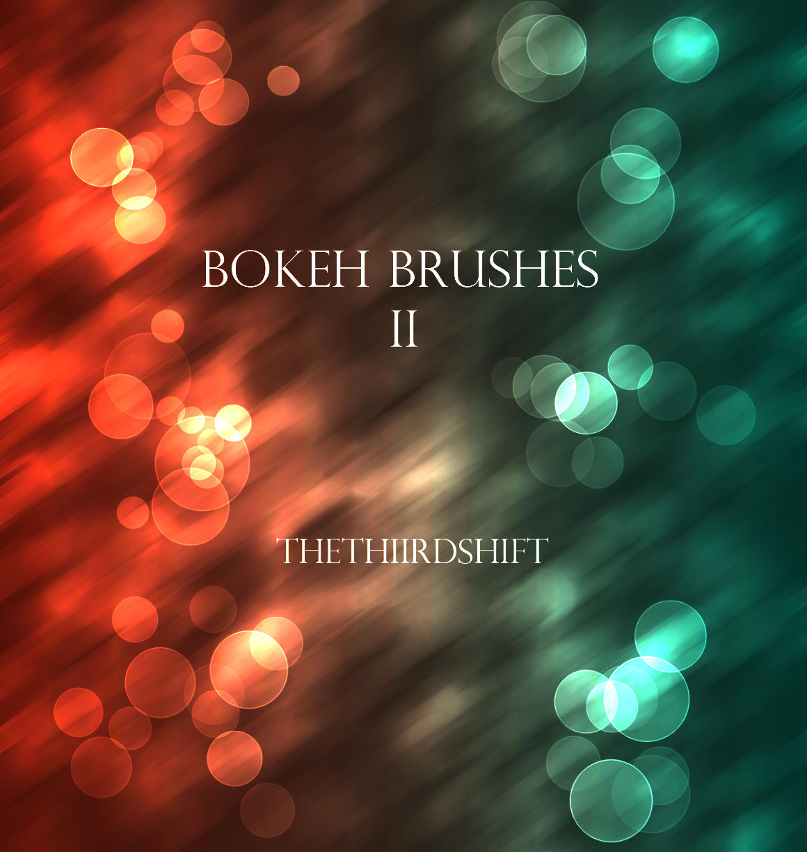 Bokeh Brushes II by thethiirdshift