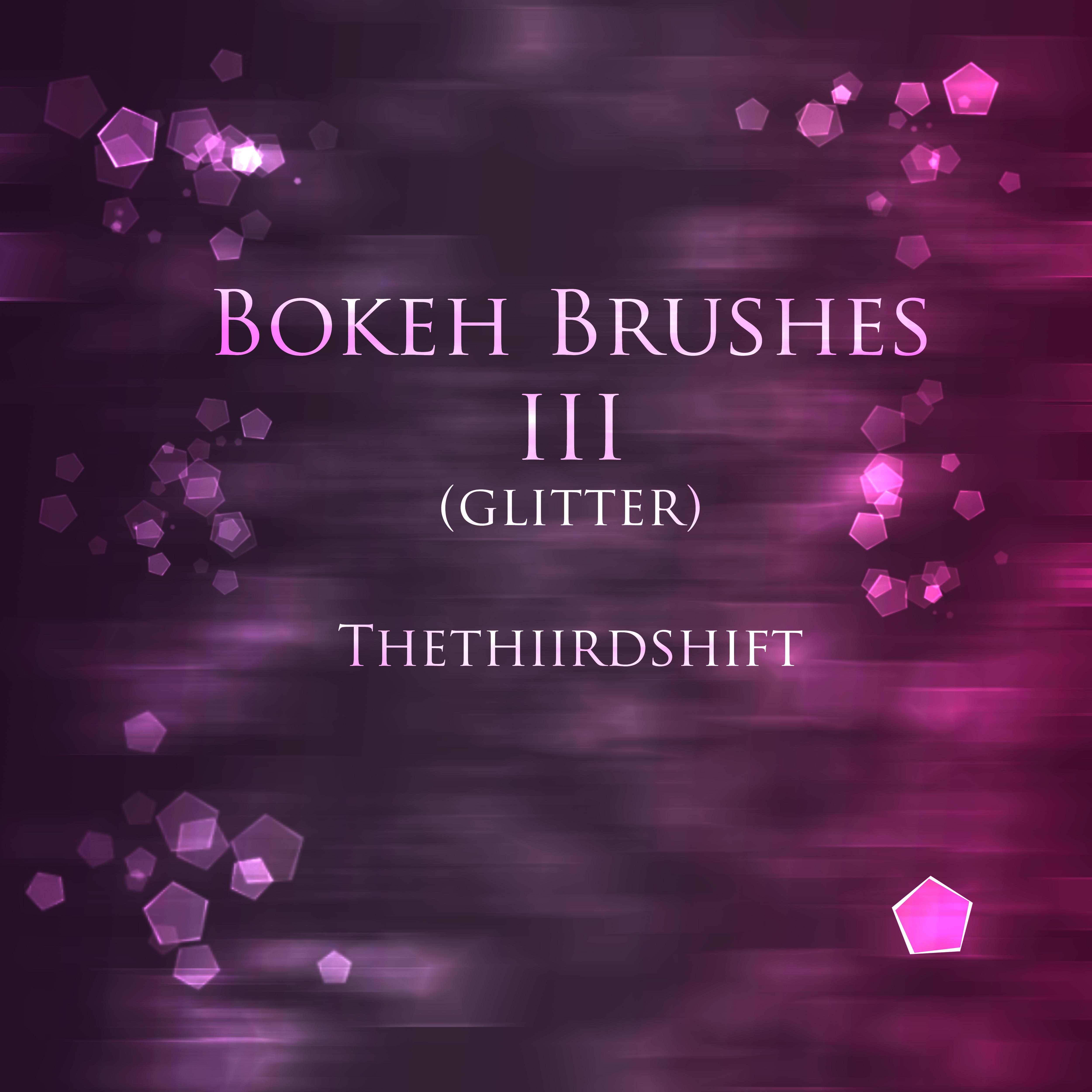 Bokeh Brushes III by thethiirdshift