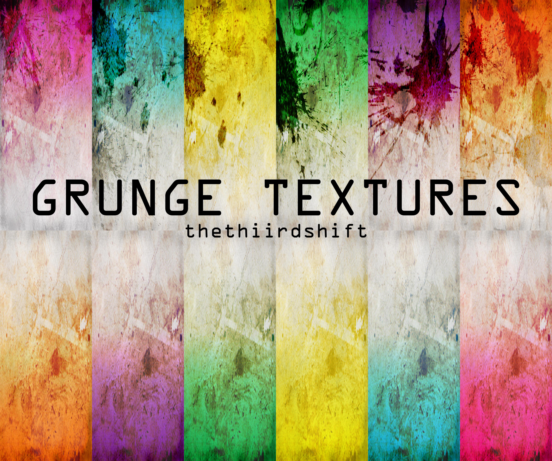 Grunge textures by thethiirdshift