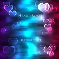 Bokeh Brushes- Hearts by thethiirdshift