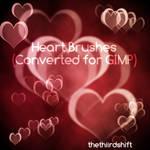 Heart Bokeh Brushes - Converted for GIMP
