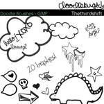 Doodle Brushes For GIMP