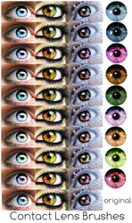 Contact Lenses for GIMP by thethiirdshift