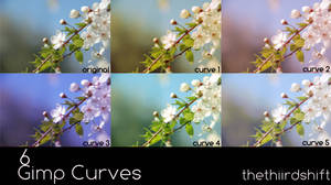 GIMP Curves - Set 1