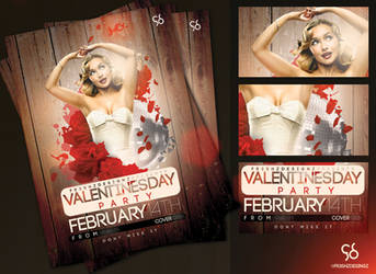 FREE V'DAY FLYER SAMPLE by Fr3shz
