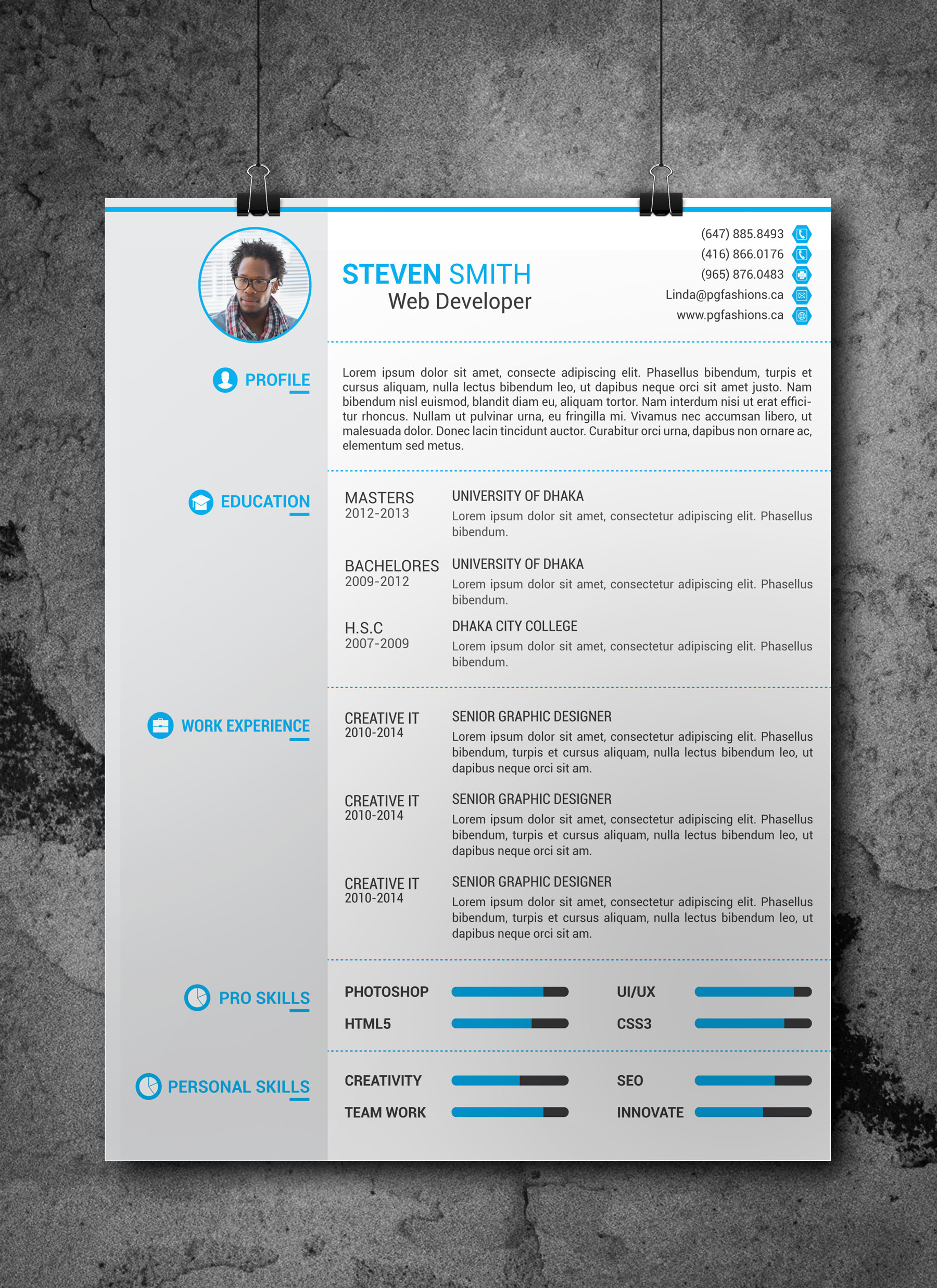 Famous 1 Year Experience Resume Format For Net Developer Tiny 10 Best Resume Services Solid 10 Commandment Coloring Pages 100 Free Printable Resume Builder Young 2014 Weekly Planner Template Dark2014 Year Planner Template CV Template (Free Download) By Arahimdesign On DeviantArt