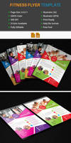 Free Fitness/Gym Flyer Template by Arahimdesign