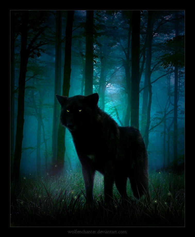 Spirit of the Great Black Wolf by CodyKit on DeviantArt
