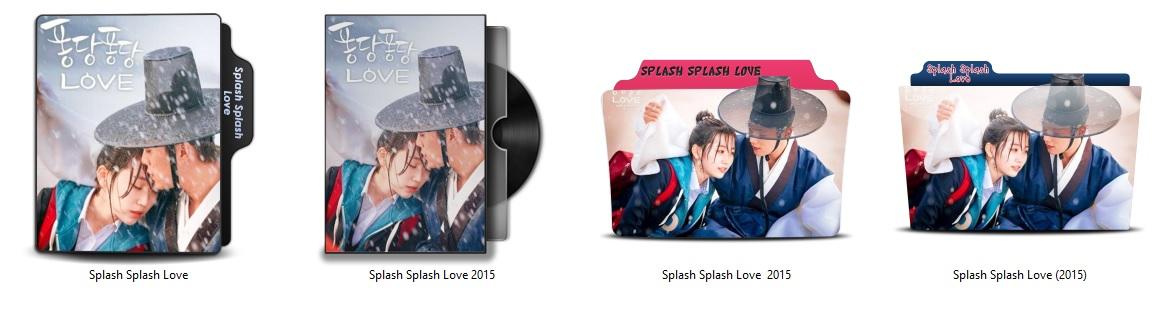 پوشه مینی سریال کره ای شالاپ شلوپ عشق / Splash Splash LOVE