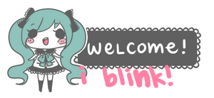 miku welcome sign [free to use]