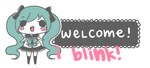 miku welcome sign [free to use] by pinkbunnii