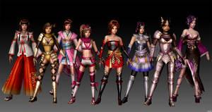 Girls Samurai Warriors 3