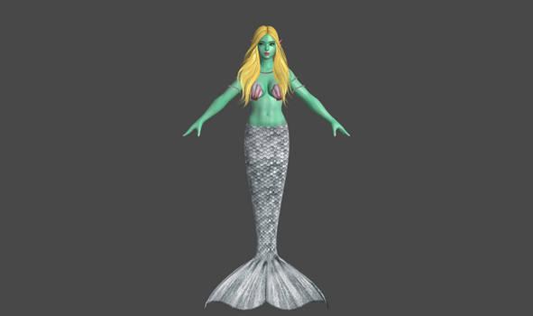 Mermaid Aphrodite by SumireJaganshi