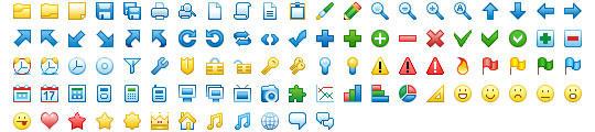 16x16 Free Toolbar Icons by Ikonod