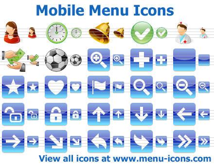 App Menu Icons by Ikonod