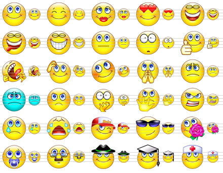 download gambar terlucu  cute smile icons by ikonod on deviantart