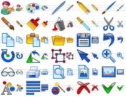Design Icon Set by Ikonod