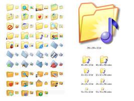 Folder Icon Set by Ikonod