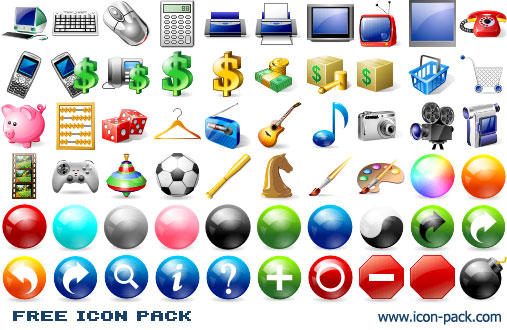 Free Icon Pack by Ikonod