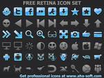 Free Retina Icon Set