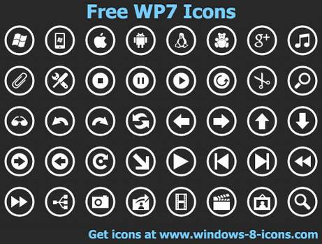 Free WP7 Icons