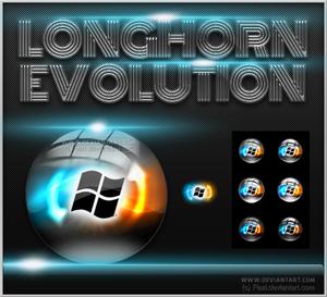 Longhorn Evolution Start Orbs.
