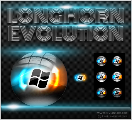 Longhorn evolution start orbs by fiazi on deviantart for Door to windows