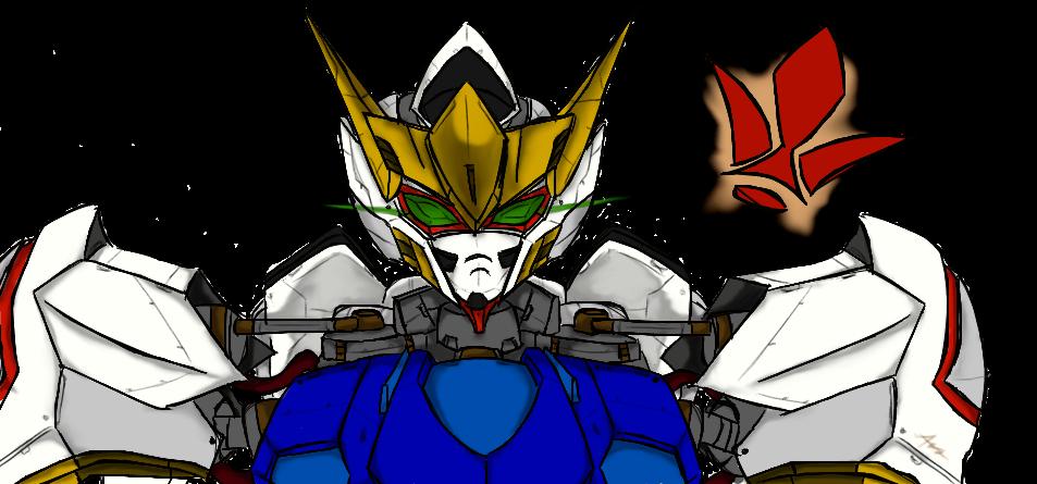 ReImagined Gundam Barbatos by rayquaza555