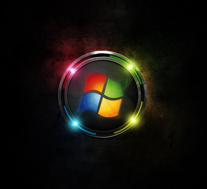 windows xp 7 black edition