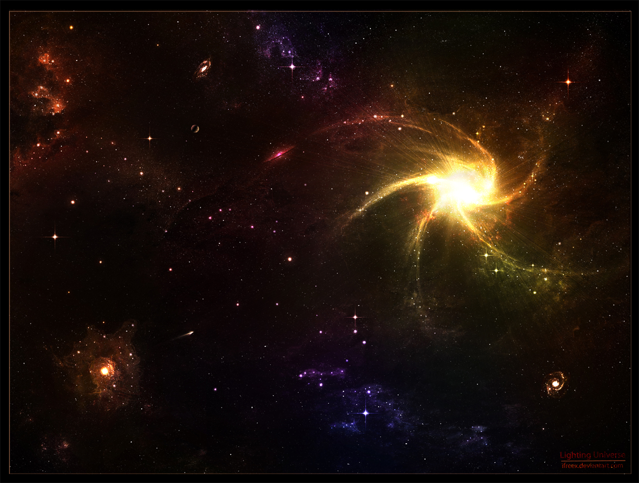 Lighting Universe By Ifreex On Deviantart