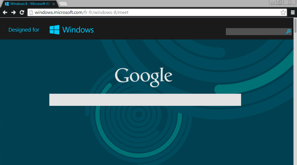 How To Make Google Your Homepage On Windows 8 Chrome - Homemade Ftempo