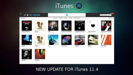 iTunes Metro For Windows [UPDATE]