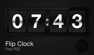 Flip Clock - PSD